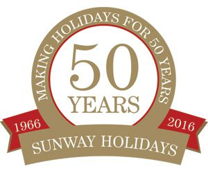 Sunway Holidays Celebrates 50 Years in Business