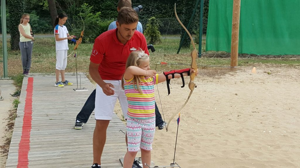 Archery at Club Med La Palmyre Atlantique