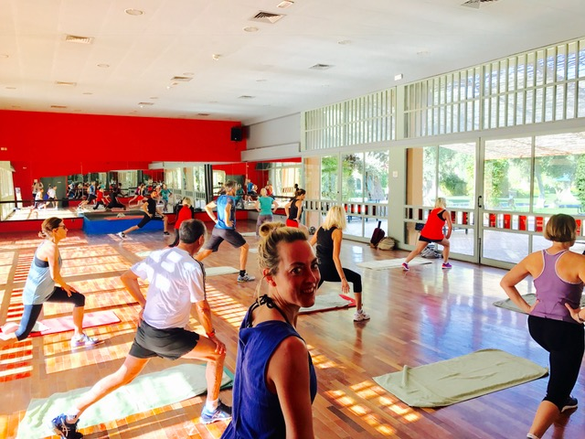 Zumba at Club Med Marrakech with Sunway