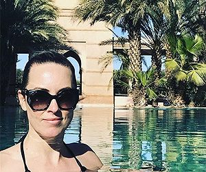 Kathryn Thomas gives thumbs up for Club Med Marrakech