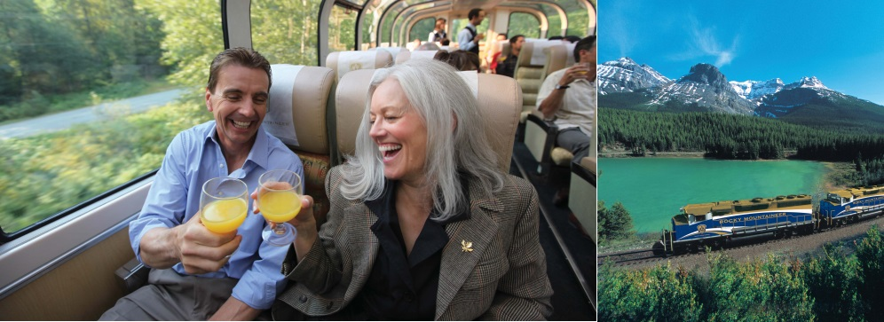 The Rocky Mountaineer Train Journey - Sunway
