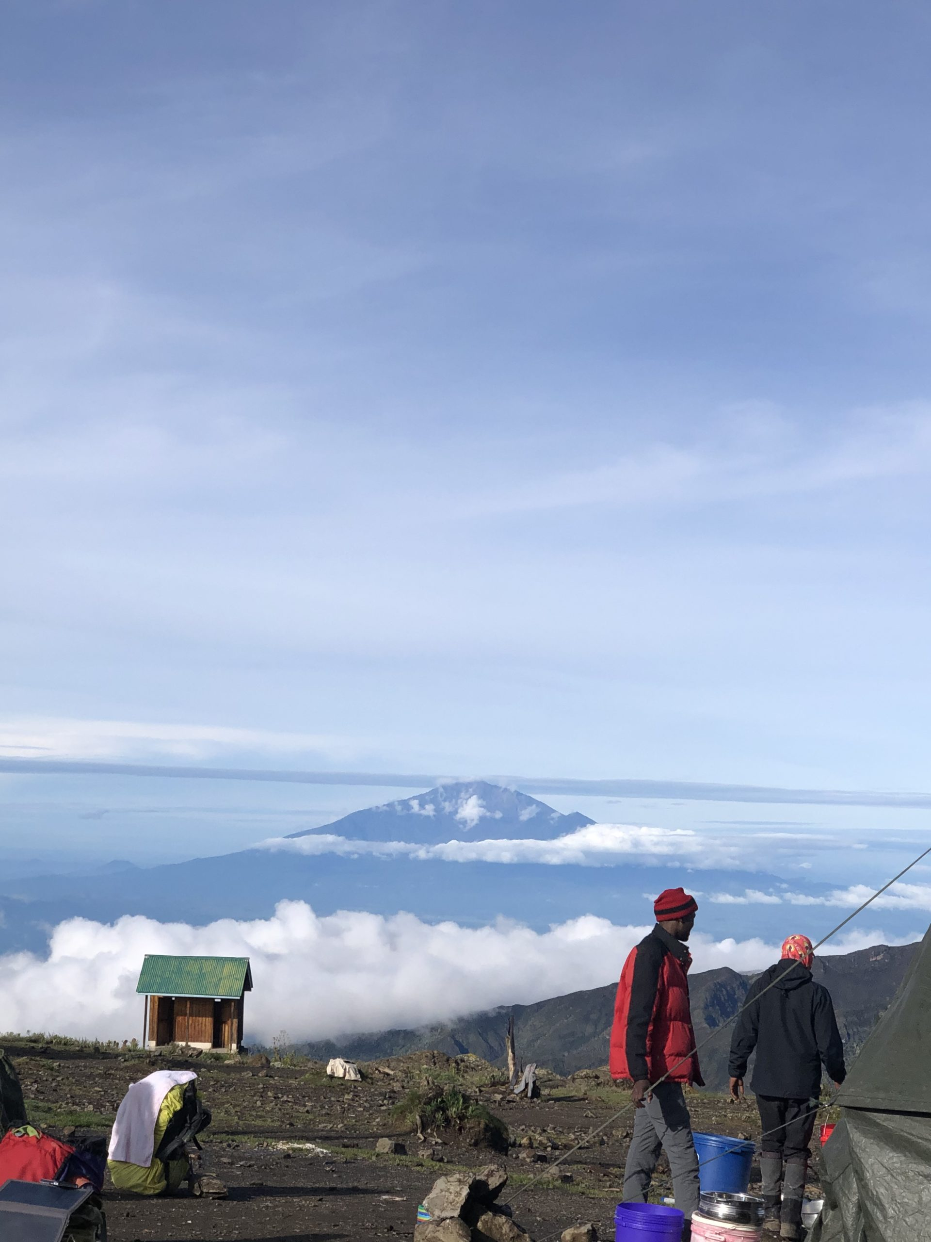 Scaling the summit - Kilimanjaro